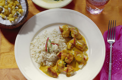 Curry_Poulet_Madras_mit_Reis