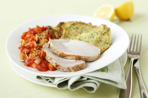 Knorr - Schweinskarree Milanese mit Karotten, Sellerie und Petersilienwurzel