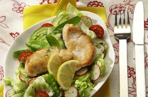 Knorr - Gartensalat mit kleinen Zitronen-Schnitzelchen