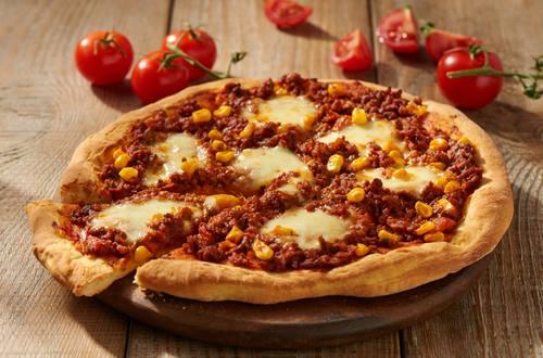 Knorr - Einfache Chili-con-Carne-Pizza