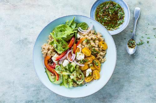 Knorr - Amaranth Salat mit Gemüse