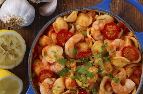 Knorr - One Pot Pasta mit Shrimps