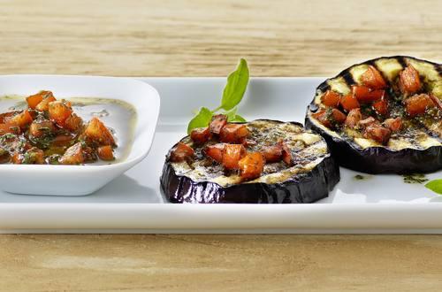 Tomaten-Marinade für Grillgemüse Ausschnitt
