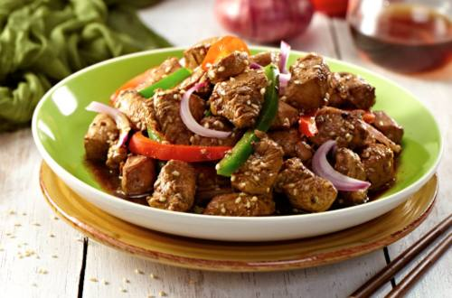 Chicken Pepper Stir-Fry Recipe