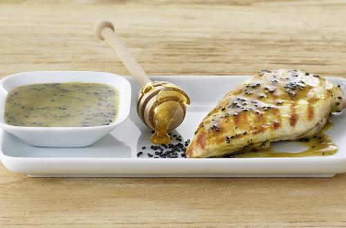 Sesam-Marinade für Pouletfleisch Ausschnitt