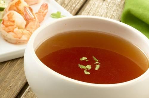 Shrimp Consomme