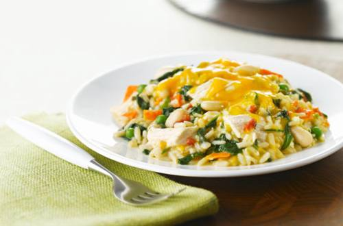 Chicken Rice Florentine Casserole