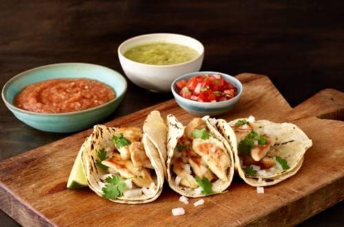 Knorr® Tacos de Pollo con Pico de Gallo