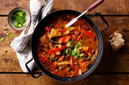 Mexikanisches Rindfleisch Chili