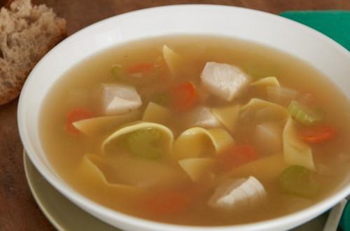 Souper Simple à la Soupe Poulet et Nouilles