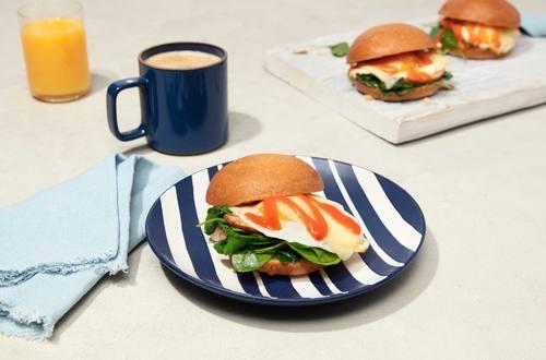 Sunday Breakfast Egg Sandwich