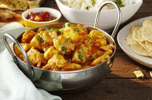 Kylling I Karry Med Indisk Twist