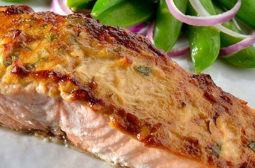 Ginger-Soy Salmon