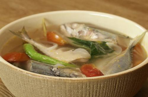 Fish Tinola with Lemongrass Recipe