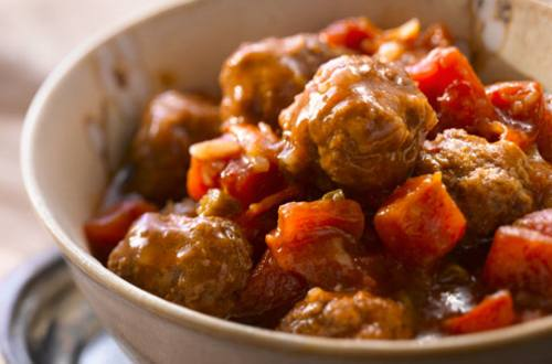 Slow Cooker Sweet & Sour Meatballs