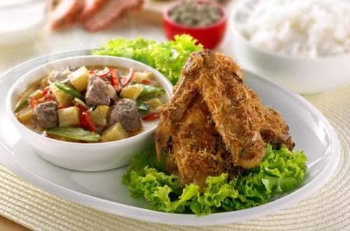 Resep Ayam Goreng Sambal Goreng Printil
