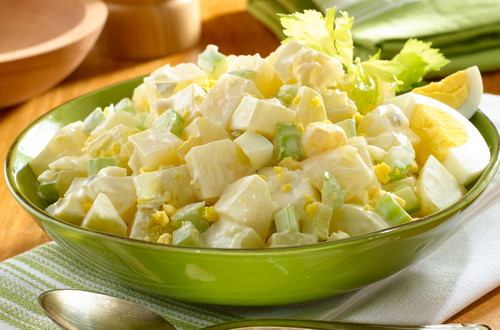 Salade de pommes de terre campagnarde