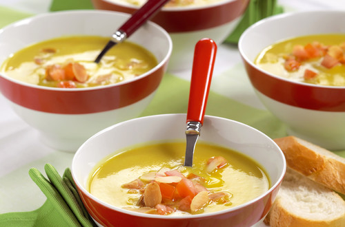 Blumenkohl-Curry-Suppe