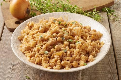 Kichererbsen-Reispfanne