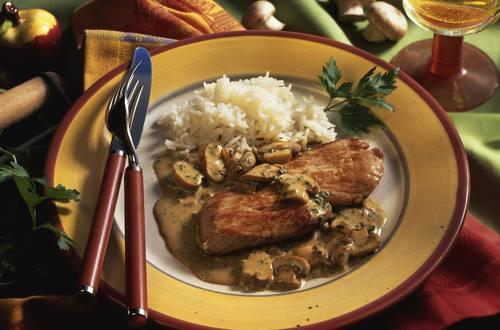 Knorr - Champignon-Rahm-Schnitzel
