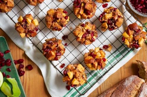 Cranberry Apple Stuffins