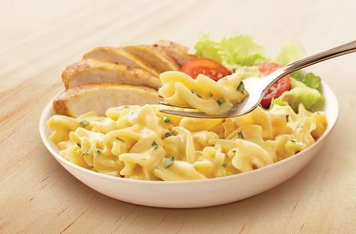 Creamy Chicken Pesto & Spring Onion Gourmet Pasta with Tomatoes & Basil recipe