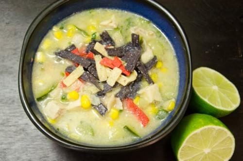 Aztec Chicken Soup