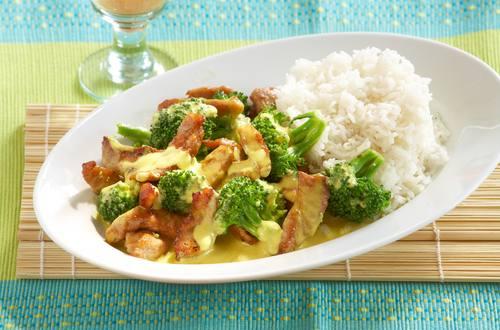 Schnitzel-Erdnuss-Curry