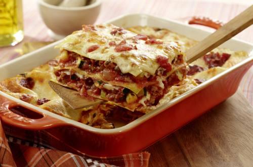 Tomaten Lasagne