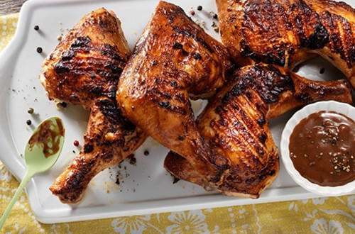 Five Peppercorn Grilled Chicken