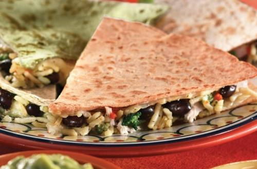 Chicken Broccoli Quesadillas