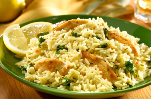 Lemon Pepper Chicken & Rice