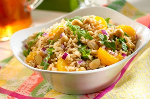 Salade Balsamique de Riz Brun