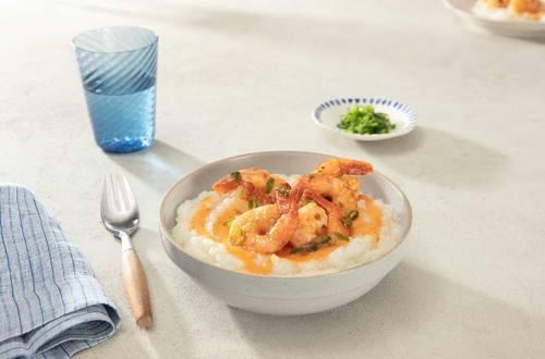 Chili Honey Shrimp & Grits