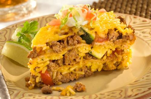 Vegetable Taco Pie