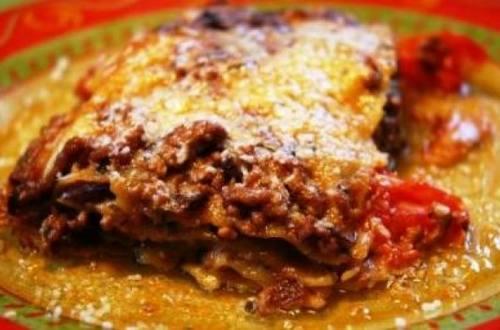Lasagna super fácil