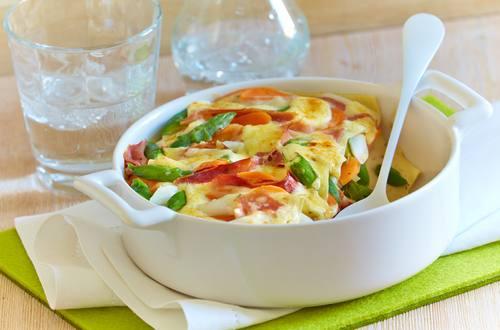Knorr - Mediterrane Frühlingslasagne mit Schinken