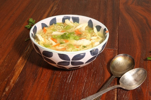 Hearty Rice Soup