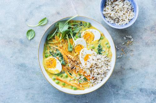 Oster Bowl mit Eier-Curry
