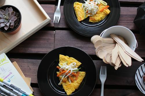 Omelette de Calabacitas y Zanahorias