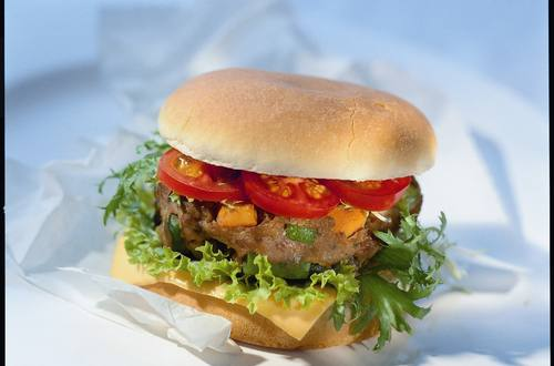 Gemüse-Hackburger