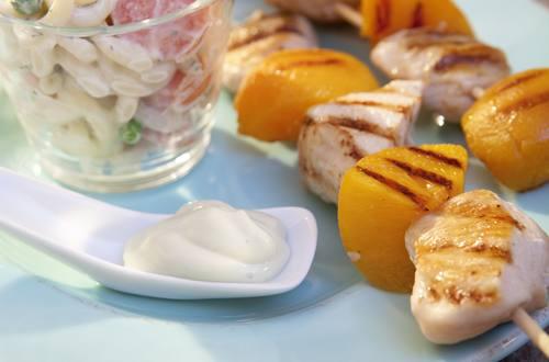 Knorr - Fruchtige Hähnchenbrust-Spieße