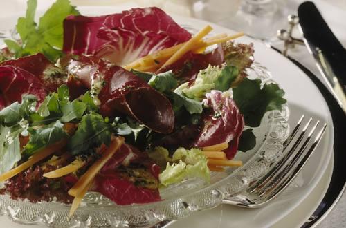 Knorr - Blattsalate mit Bündnerfleisch