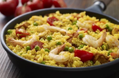 Knorr - Paella mit Hähnchen und Shrimps