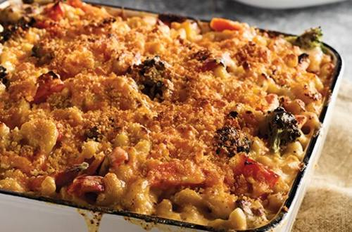 Roasted Vegetable Mac & Cheese