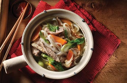 Soupe aux Nouilles Chinoises de Longévité