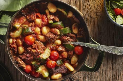 Knorr - Mediterrane One Pot Gnocchi mit Zucchini
