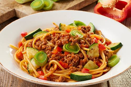 verse pastasaus bolognese