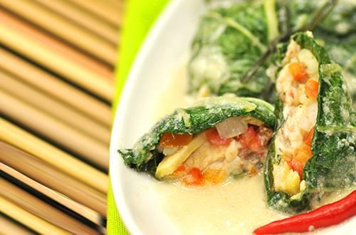 Creamy Binalot na Tilapia sa Pechay (Sinanglay) Recipe