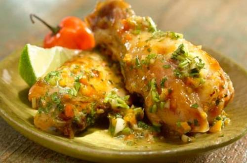 Spicy Cilantro Chicken Wings